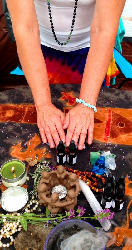 Empowered Goddess - Healing Hands