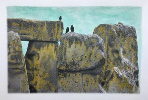 Stonehenge Watercolor-by Rev Ann Rene